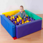 Sensory Toddler Ball Pool  Multi Coloured